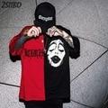 Harajuku Nähte Clown T-shirts stickerei kurzarm t shirts Männer und Frauen street Hip Hop Casual t-shirt Lose Tops T