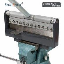 Machine à cintrer manuelle pour plaques en acier, Machine à cintrer les plaques, batterie en acier/galvanisé/aluminium/feuille, qualité allemande, sans pince