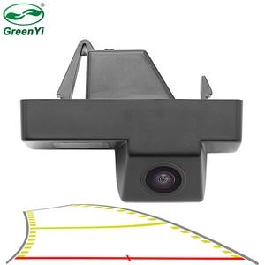 HD 4089T Vehicle Dynamic Trajectory Parking Line Car Rear View Reverse Backup Camera For Toyota Land Cruiser 100 Prado 120