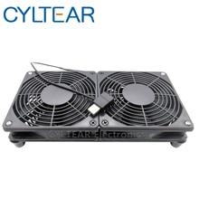 цена на usb Router Cooling Fan DIY PC Cooler TV Box Wireless Quiet DC 5V USB power 120mm fan 120x25mm 12CM W/Screws Protective net