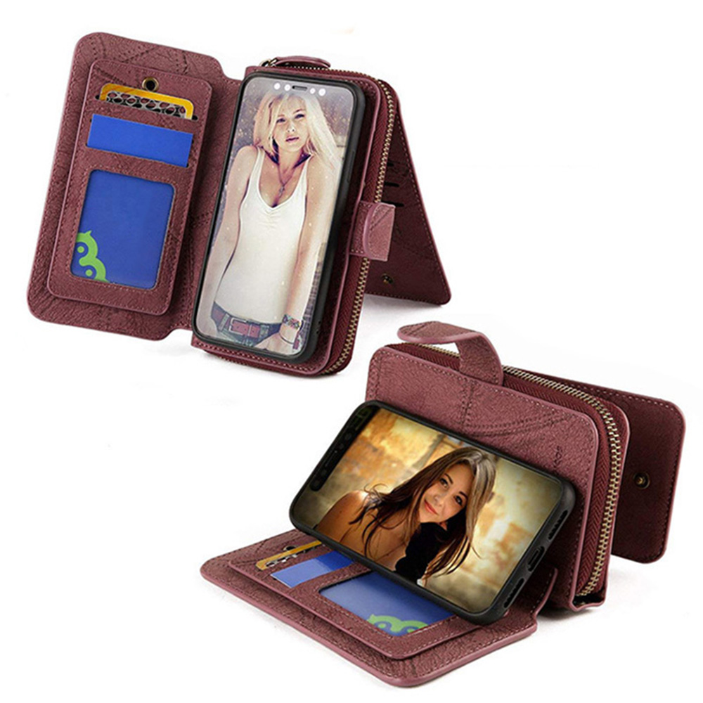 MEGSHI-SanDai multifungsi kulit telepon kasus untuk Samsung A51 A71 - Aksesori dan suku cadang ponsel - Foto 2