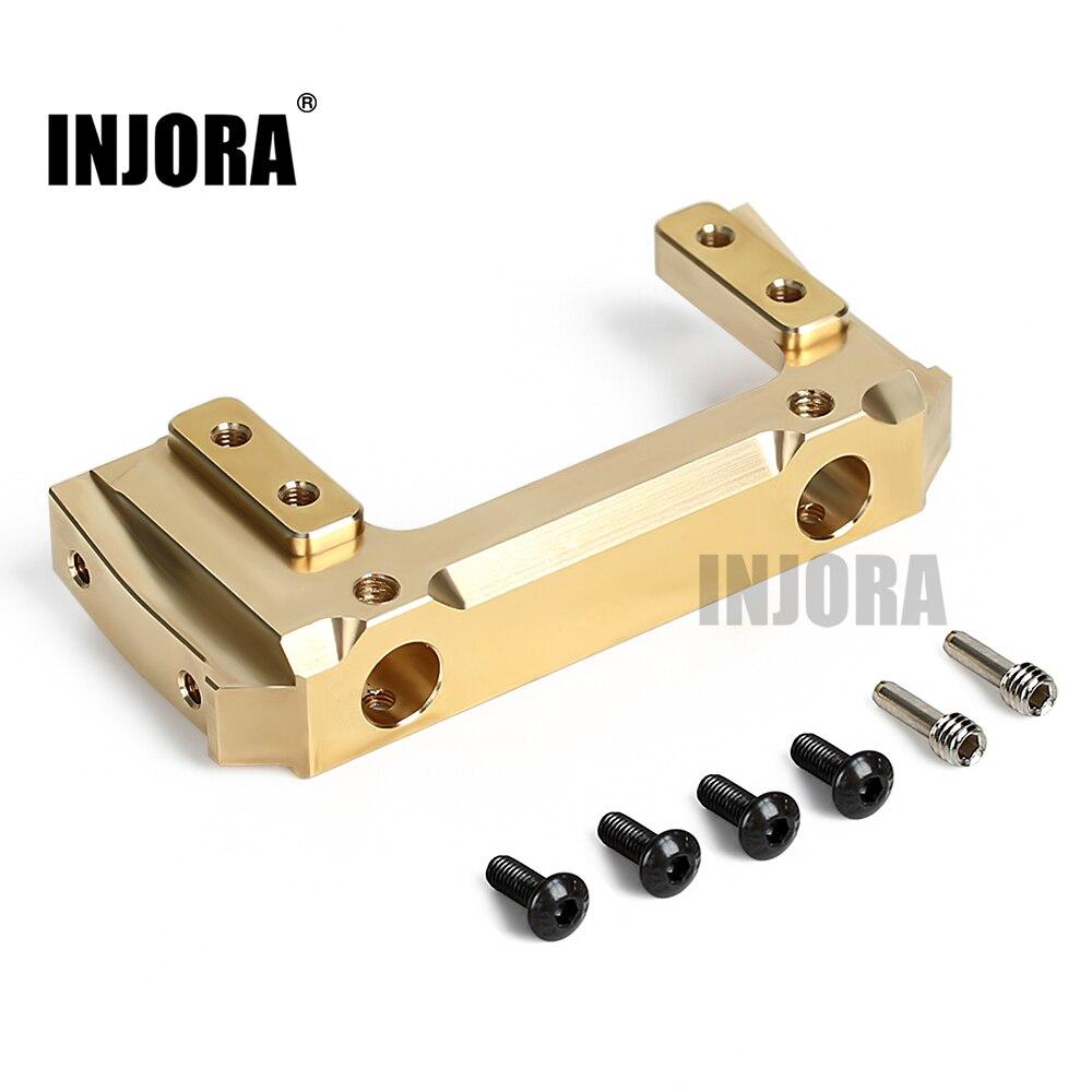 Alloy Metal Servo Front Bumper Mount For 1//10 Crawler Axial SCX10II 90046 90047