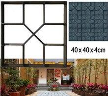 Floor Path Maker Mould Stone Road Concrete Molds Reusable DIY Paving Durable Pavement Mold for Garden Lawn Home