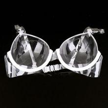 BRA Transparent Plastic Disposable Invisible Bra Ladies Invi