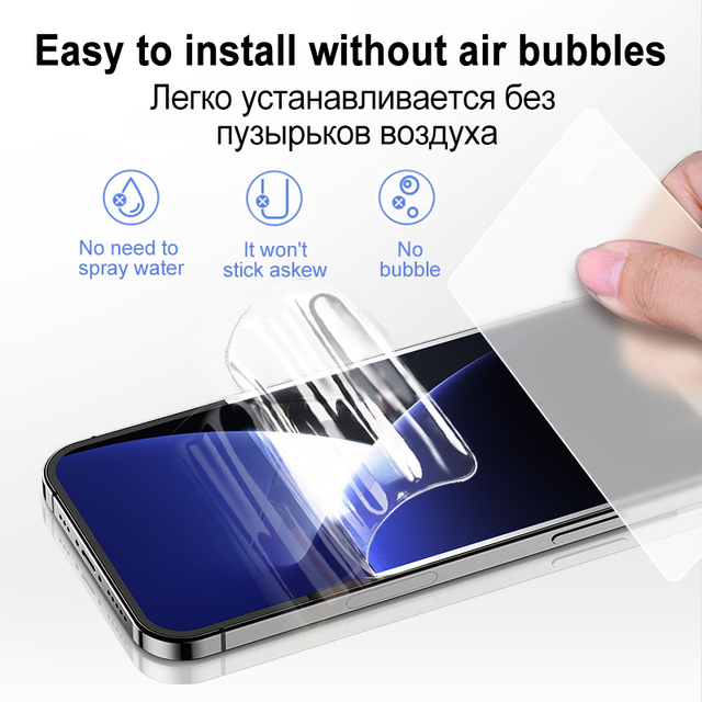 Full Cover Hydrogel Film For iPhone 11 12 Pro XS Max mini SE 2020 Screen Protector For iPhone 7 8 6 6S Plus X XR Film Not Glass 6