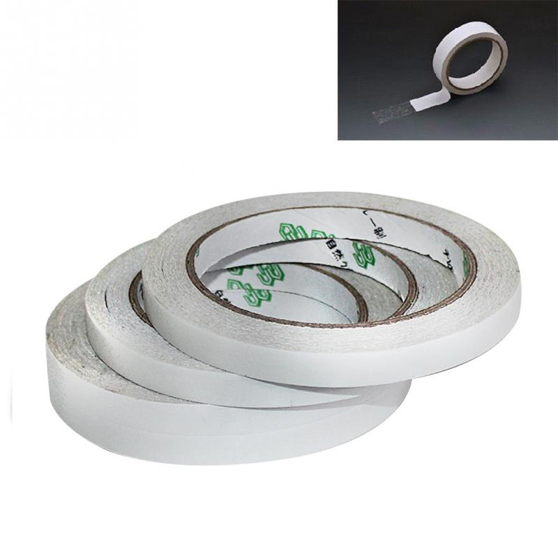 1pc 5/12/24/48mm Strong Double-sided Tape Sticky Tape Adhesive Tapes DIY Stationery Sticky Foam Ultra-thin High-viscosity Tapes