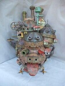 65CM Hayao Miyazaki Wandelnde Schloss 3D Papier Modell Hoch Land Version Modell Pädagogisches Puzzle DIY Spielzeug Vorhanden geschenk Kind