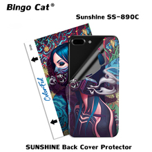 50pcs SUNSHINE Back Cover Protector Sticker Film For SUNSHINE SS-890C Cutting Machine Popular High Grade Design Pattern