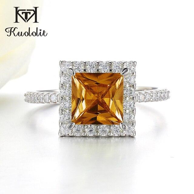 Kuololit Diaspore Sultaniteเปลี่ยนสีแหวนอัญมณีสำหรับสตรี 925 เงินสเตอร์ลิงแหวนหมั้นของขวัญเครื่องประดับFine