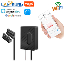 EARYKONG WiFi โรงรถประตูสมาร์ทโรงรถใช้งานร่วมกับ Alexa Echo หน้าแรกของ Google Smart Life Tuyasmart APP IOS Android USB 5V