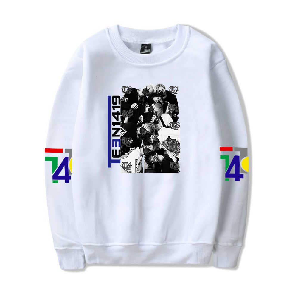 Ksone Fit Unisex Rapper Hoodies Fashion Print Sport Hip Hop Sweatshirt Round Collar Pullover with Kangaroo Pocket Novelty Tops
