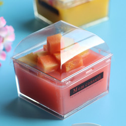 50 sztuk 145ml przezroczysty jednorazowy pucharek do deserów mały pudding lody narzędzie do dekoracji ciast opakowania plastikowe kubki z pokrywką w Kubki jednorazowe od Dom i ogród na