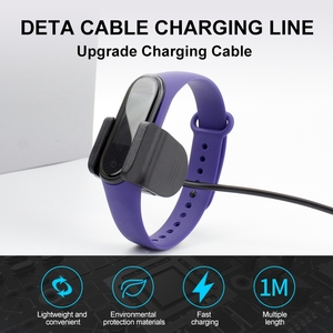 Image 2 - iONCT 1M USB Charger Cable for Xiaomi Mi Band 4 Charger Disassembly free Adapter Mi Band 5 Charging MiBand 4 NFC Cable Charge
