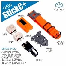 2019 M5Stick C с EPS Hat + SPK Hat ESP32 PICO Mini IoT макетная плата, компьютер с TFT LCD
