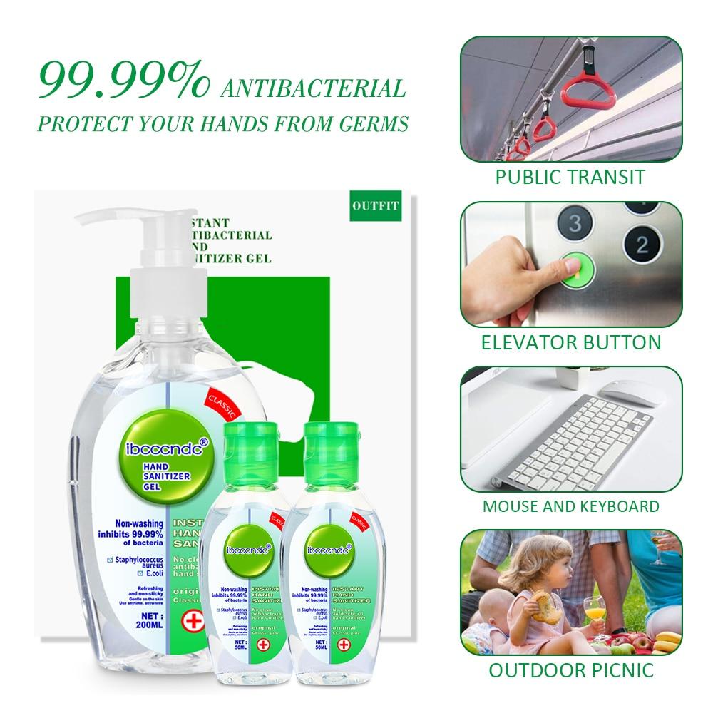 Antibacterial Hand Sanitiser Antibacterial Hand Cleaning Gel Disposable Hand Sanitizing Gel Household Disinfectant Gel 300ML