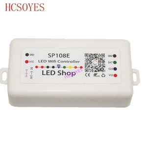 Image 5 - DC5 24V SP105E SP108E קסם בקר Bluetooth 2048 פיקסלים עבור WS2811 2812 2801 6803 IC LED רצועת תמיכת IOS/אנדרואיד אפליקציה