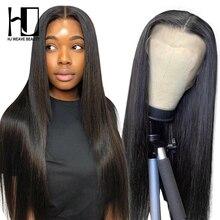 Бразильские Прямые кружевные передние человеческие волосы парики для женщин 13x4 кружевные передние al парики предварительно собранные чело...