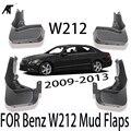 4 шт./компл. Брызговики для Benz W212 спереди расширитель крыла или колесной арки Брызговики для Mercedes E300 E350 E550 E500 E280 E200 2008-2013