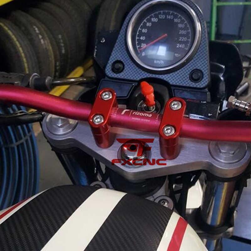Manillar de 28 mm Abrazadera elevadora Moto CNC 1 1//8 28mm Manillar Barra de Grasa Almohadilla empu/ñaduras para Pro Honda Yamaha Suzuki Kawasaki KTM BMW CB400 CB400SF CB250R CB1000R