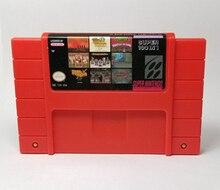 Super 100 en 1 cartouche de jeu vidéo avec jeux Castlevania Dracula X IV Contra III combat Final 3 Hagane Mega Man 7 Tetris