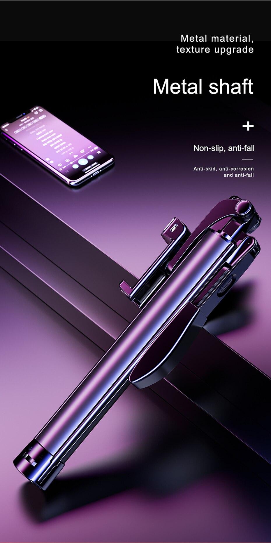 Video Stabilizer Selfie Stick Tripod  (1)