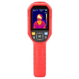 Image 3 - UNI T UTi165A HD kamera termowizyjna na podczerwień kamera detektor ogrzewania podłogowego zakres temperatur 10 ° c ~ 400 ° c 2.8 cala monitor TFT