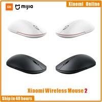 Mouse da gioco portatile originale 2020 Xiaomi Mi Wireless Mouse 1000dpi 2.4GHz WiFi link Mouse ottico Mini Mouse portatile 1-4 pezzi