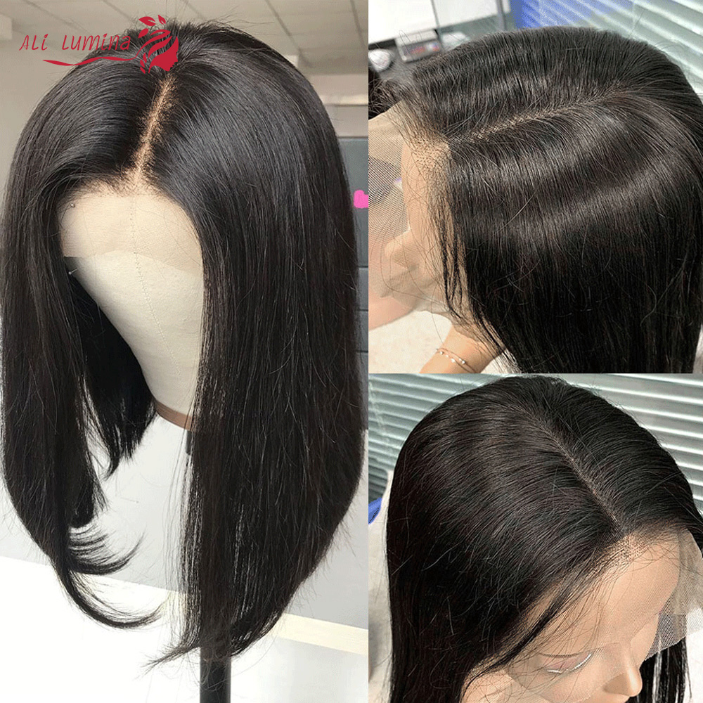Straight Hair 13x4 Lace Frontal Wig Ali Lumina 2