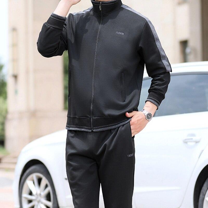 Hose Sweatsuit Neue Männer Sportswear 2 Stück Set Sporting Anzug Jacke
