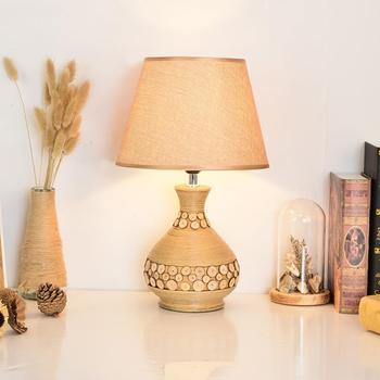 Modern Simple European Bedroom Bedside Lamp American Country Pastoral Living Room Table Lamp Nordic Ceramic Table Lamp