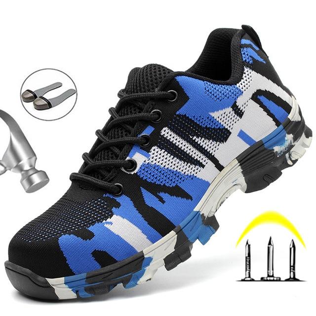 Chaussures indestructibles de Construction hommes embout en acier travail botte de s curit chaussures de s