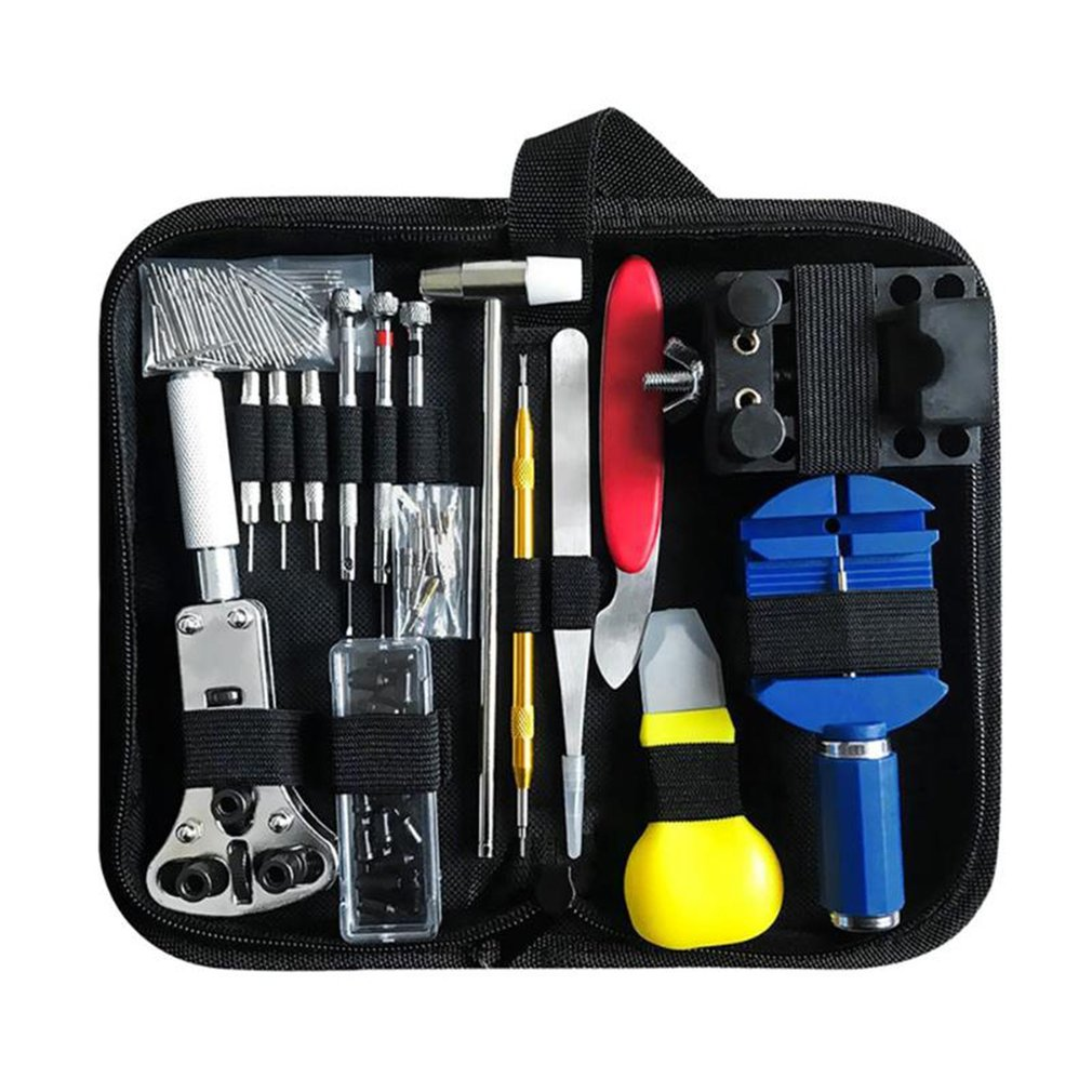 147pcs Watch Repair Tool Kit Watch Link Pin Remover Case Opener Spring Bar Remover Horlogemaker Gereedschap Repair Tool Set