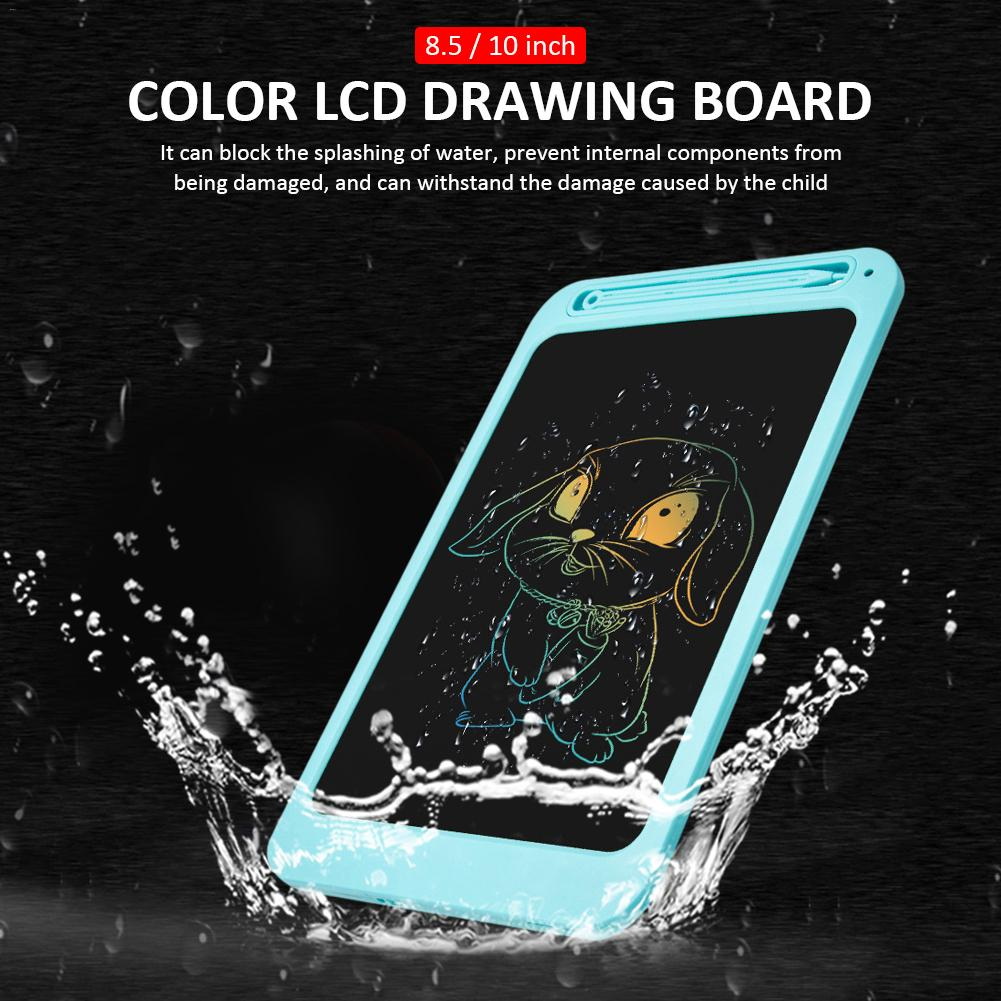 Light Energy Electronic Small Blackboard 8.5 Inch Color LCD Drawing Board Home Graffiti Board Painting Write Handwriting Board