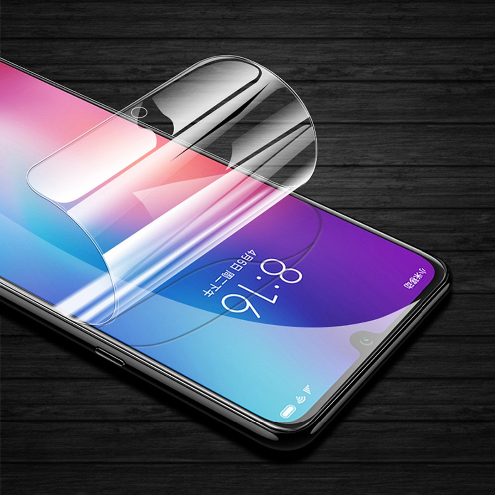 36D Front Back Soft TPU Premium Screen Protector For Xiaomi Mi 9 9SE CC9 CC9e Hydrogel Film On Redmi K20 7A Note 7 S A 6 5 Pro in Phone Screen Protectors from Cellphones Telecommunications