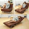 Складной диван-кровать Кресло Спальное кресло Досуг кресло ткань дышащий ленивый диваны одноместный гостиная кресло кровать мебель