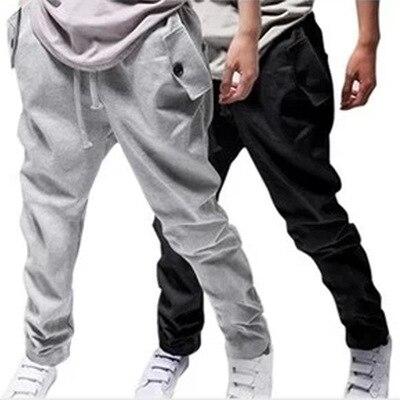 Hot Selling MEN'S Trousers Spring And Autumn Men Harem Casual Pants Qcc Versatile Fashion Men Sweatpants Wholesale K309