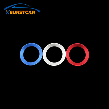Xburstcar for For Skoda Octavia A7 A 7 A5 Rapid Fabia Superb 2012 - 2016 Car Steering Wheel Center Circle Trim Accessories image