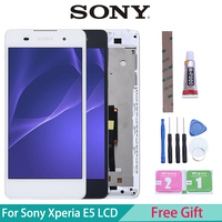 Originele Lcd Voor Sony Xperia E5 Display Touch Screen Digitizer Vervanging Voor Sony Xperia E5 Lcd F3311 F3313