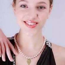 YKNRBPH S925 Sterling Silver Natural FreshWater Pearl Pendant Necklace For Women Gift Wedding Party Fine Jewelry 8-9MM