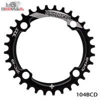 104BCD Bicycle Chainring plato bicicleta mtb 104mm 32T Round Cycle Chainwheel 7075-T6 MTB Bike Circle Crankset Plate
