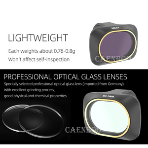 Image 3 - Drone Set Filter UV CPL Polar ND4/ND8/ND16/32 Neutral Density Filters Lens Protector For DJI Mavic Mini Camera Accessories Kit