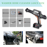 pcmos Car Washer Water Gun Snow Foam Lance Portable Cordless High Pressure Clean Washer Hose Car Wash Maintenance