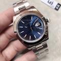 2019 U1 фабрика высокого качества Автоматическая техника 2813 DateJust сапфир AAA + 41 мм из нержавеющей стали мужские 116600 наручные часы с отметкой даты