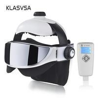 KLASVSA Electric Head Neck Massager Far Infrared Heating Vibration Eye Mask Massage Air Pressure Muscle Stimulator Health Care