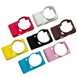 Чехол для Sony Alpha A5100 A5000 A6000 A6100 A6300 A6400, мягкий силиконовый резиновый чехол для камеры, защитный чехол Сумки для фото-/видеокамеры      АлиЭкспресс