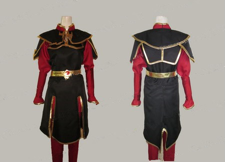 Anime Avatar: The Last Airbender Azula Cosplay Costumes Halloween Party Uniform Suit For Unisex Role Play Clothing Custom-Make