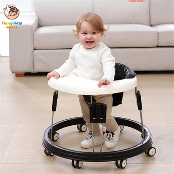Happymaty Baby Walker Multifunctional Anti Rollover Folding Walker for 6-18 Months Baby Walk Learning Set Car new design baby walker multifunctional music plate u type folding easy anti rollover safety scooter baby walkers portable carry