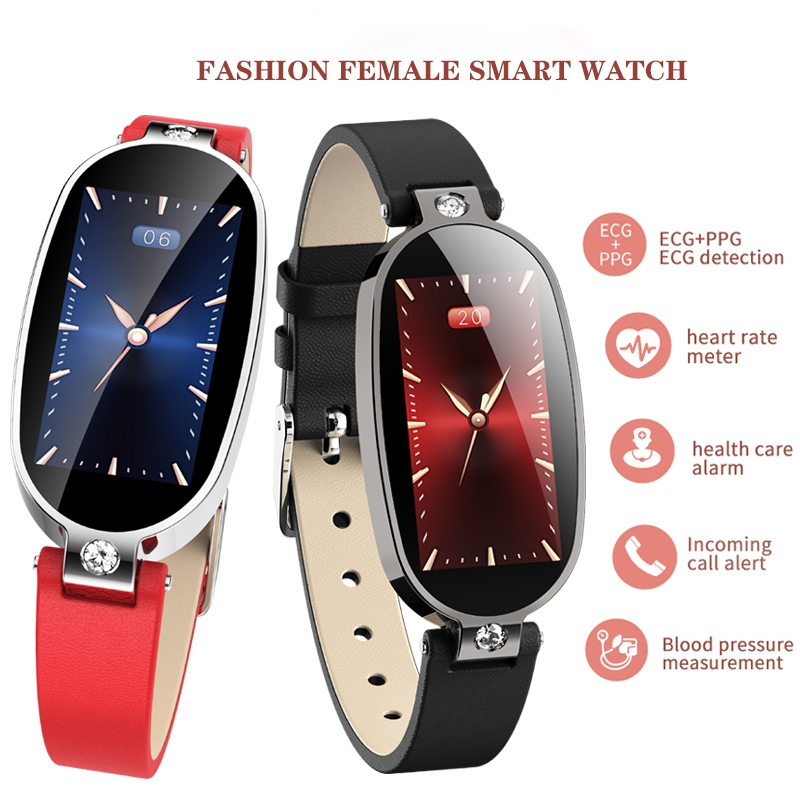 Sports Smart Watch 2020 Women PPG&ECG fitness Band Ladies Bluetooth relogio inteligente Bracelet for redmi Honor Oppo Smartphone image