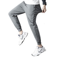 Pantalon de Sport pour homme, surdimensionné 4XL, gris, pour jogging, survêtement, vêtements, sarouel, Streetwear
