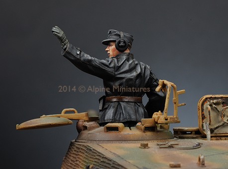 1:35 WWII German SS Commander Tucker